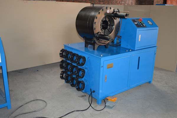 3 '' - Crimping मशीन