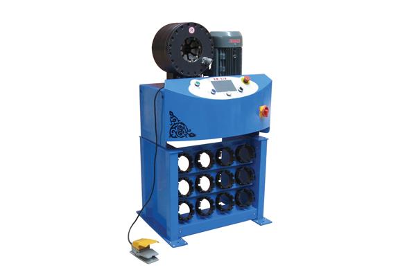छोटे व्यापार संवर्धन के लिए उच्च दबाव हाइड्रोलिक नली crimping मशीन